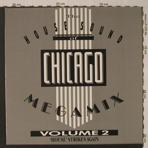 V.A.The House Sound Of Chicago: Megamix Vol.2, 4 Tr., Foc, BCM(D.J. 33-1014-45), D,  - LP - F4621 - 6,00 Euro