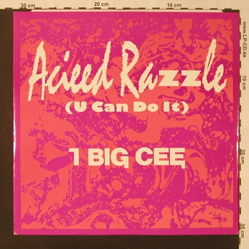 I Big Cee: Acieed Razzle(U Can Do It)*2, Debut(DEBTX 3060), UK,  - 12inch - F4683 - 3,00 Euro