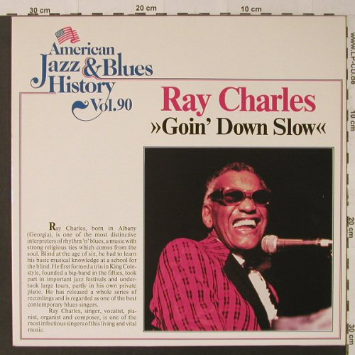 Charles,Ray: Goin'Down Slow, Tobacco Road(B/2590), D,  - LP - F4704 - 5,00 Euro