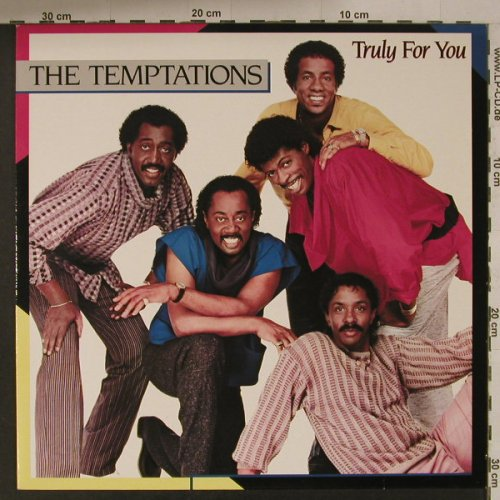 Temptations: Truly For You, Motown(), D, 1984 - LP - F5149 - 5,00 Euro