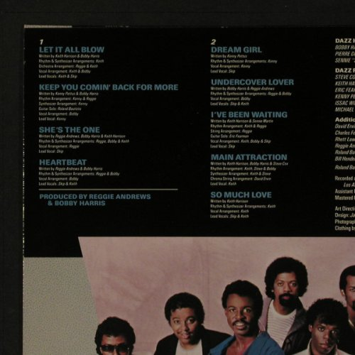 Dazz Band: Jukebox, Motown(ZL 72335), , 1984 - LP - F5204 - 5,50 Euro