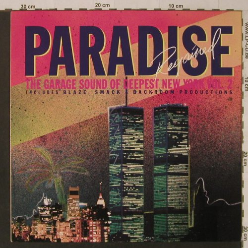 V.A.Paradise Regained: Garage Sound of Deepest N.Y.Vol.2, Republic/RoughTrade(L1-295 /RTD 109), D, m-/vg+, 1989 - LP - F5395 - 5,00 Euro