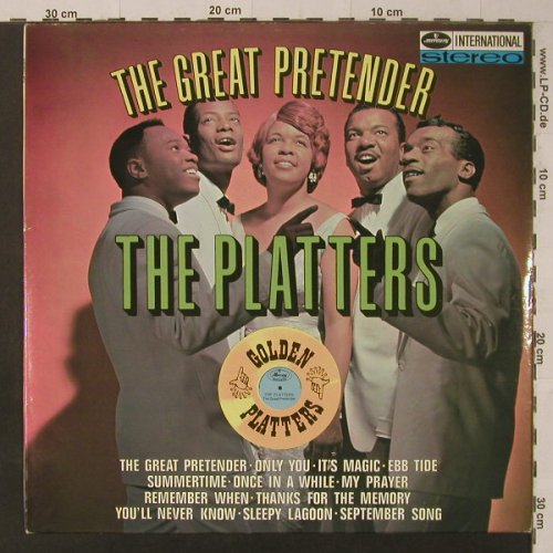 Platters: The Great Pretender, Mercury(134 544 MFY), NL,  - LP - F5712 - 12,50 Euro
