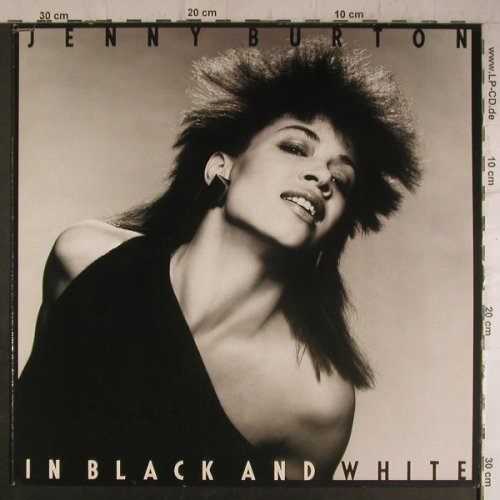 Burton,Jenny: In Black And White, Atlantic(780 122-1), D, co, 1983 - LP - F6970 - 5,00 Euro