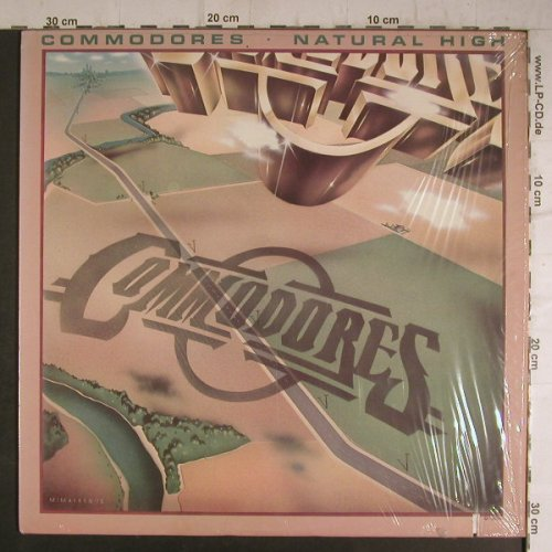Commodores: Natural High,Co, Motown(M7-902R1), US, 1978 - LP - F7033 - 5,50 Euro