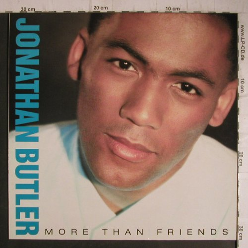 Butler,Jonathan: More Than Friends, Jive(6.26902 AS), D, 1988 - LP - F7339 - 3,00 Euro
