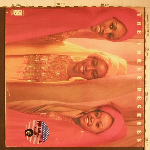 Three Degrees: Same, Foc, Philadelphia(PIR 65858), NL, 1973 - LP - F7584 - 6,00 Euro