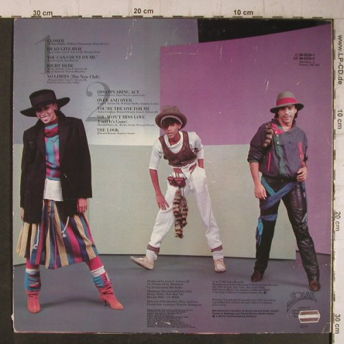 Shalamar: The Look, m /vg+, Solar(96-0239-1), D, 1983 - LP - F7799 - 6,00 Euro