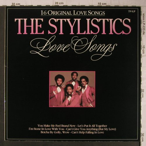 Stylistics: Love Songs-16 Original Love Songs, Arcade(ADEH 203), NL, 1986 - LP - F7877 - 4,00 Euro