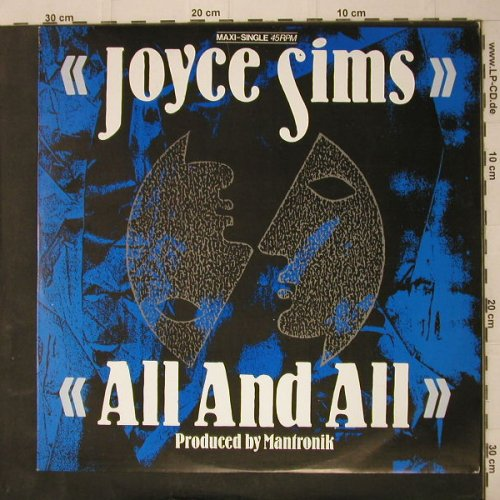 Sims,Joyce: All And All*4, Blow Up(INT 125.559), D, 1986 - 12inch - F7 - 1,00 Euro