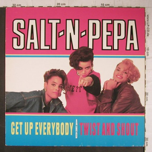 Salt-N-Pepa: Get up Everybody*2/Twist&Shout*2, Metronome(886 409-1), D, 1988 - 12inch - F8066 - 3,00 Euro