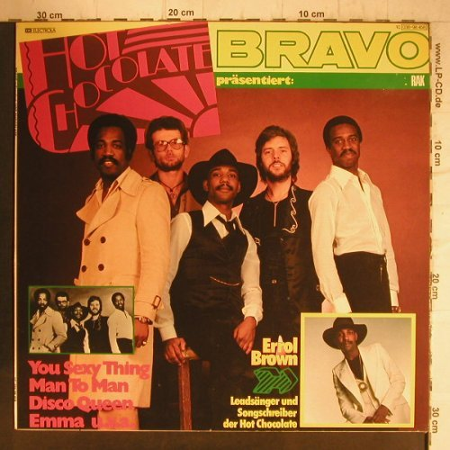 Hot Chocolate: Bravo Präsentiert, RAK(038-98 458), D, 1976 - LP - F8117 - 5,00 Euro