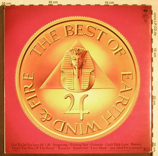Earth,Wind & Fire: The Best Of Vol.1, Foc, CBS(CBS 32536), NL, 1978 - LP - F9855 - 5,00 Euro