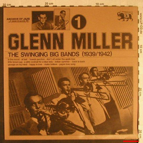 Miller,Glenn: The Swinging Big Band(1939-42), Jazz Line,m-/vg-(101.561), I, Vol.1, 1974 - LP - H1092 - 3,00 Euro
