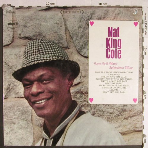 Cole,Nat King: Love is a many Splendored Thing, Pickwick(SPC-3046), US, FS-New,  - LP - H1120 - 9,00 Euro