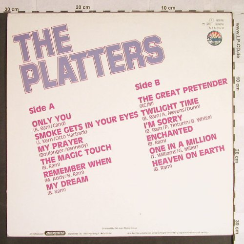 Platters: Only you, Babylon(80016), D, Ri,  - LP - H1127 - 4,00 Euro