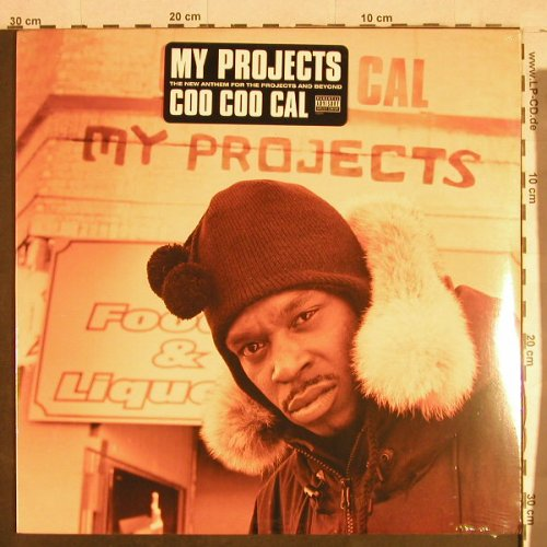 Coo Coo Cal: My Projects*3+1, FS-New, TommyBoy(), US, 2001 - 12inch - H1375 - 4,00 Euro