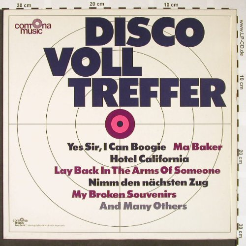 V.A.Disco Volltreffer: Yes Sir, I can Boogie..Komm doch.., Contona Music(LP-7711), D,remake, 1977 - LP - H1602 - 5,00 Euro