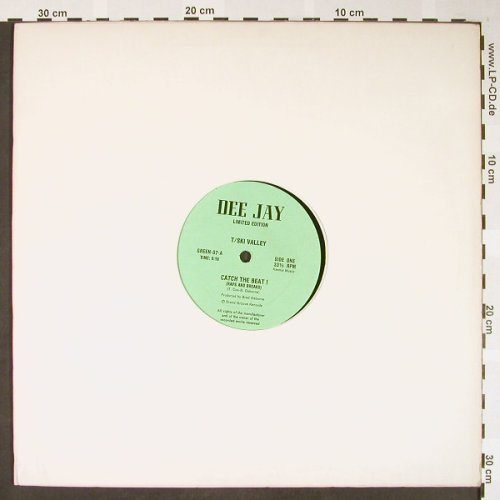 T-Sky Valley / The Just Four: Catch the Beat !/Girls of the World, Dee Jay(GREEN-07), US, LC,  - 12inch - H1644 - 5,00 Euro