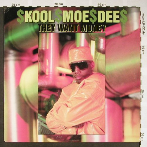 Kool Moe Dee: They want Money*3/Get the Picture, Jive(1215-1-JD), US,vg+/vg+, 1989 - 12inch - H1660 - 4,00 Euro