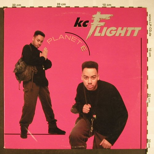 Kc Flightt: Planet E*4,hiphop mx..AcidHouse rmx, BMG(8897-1RD), US,vg+/m-, 1989 - 12inch - H1661 - 4,00 Euro