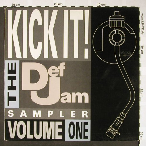 V.A.Kick It!-Def Jam Sampler Vol.1: Beastie Boys...Oran'JuiceJones, CBS(KIKIT1), UK, 1987 - LP - H1664 - 4,00 Euro