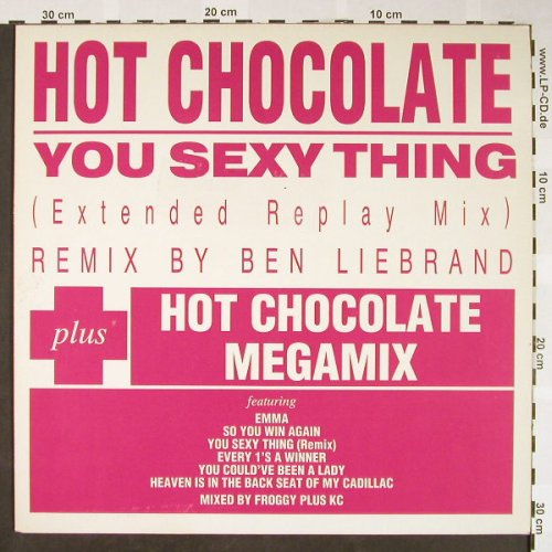 Hot Chocolate: You Sexy Thing,ext.repl.mx,Liebrand, EMI(), NL, 1987 - 12inch - H1675 - 4,00 Euro