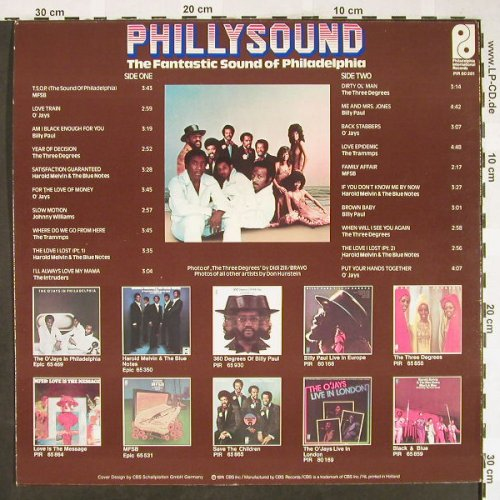 V.A.Phillysound-The Fantastic: Sound Of Philadelphia, 20 Tr., CBS(PIR 80281), NL, 1974 - LP - H1907 - 7,50 Euro