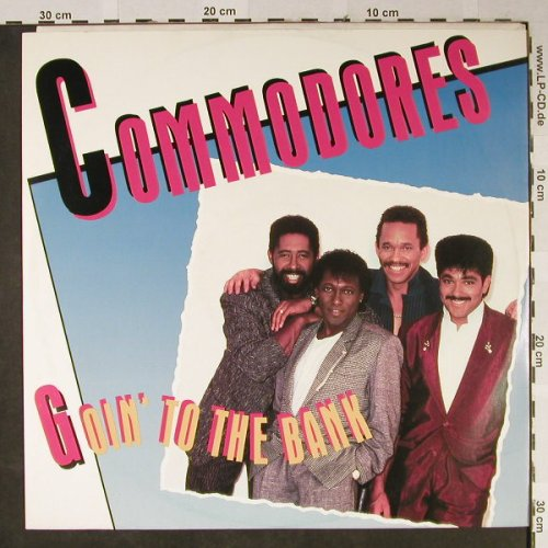 Commodores: Goin' To The Bank*2/Serious Love, Polydor(885-377-1), D, 1986 - 12inch - H2356 - 3,00 Euro