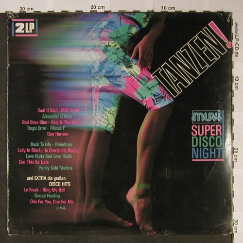V.A.Tanzen!-Muvi Super Disco Night: Soul II Soul...Barry White, FS-New, Ariola(303 584), D, 1989 - 2LP - H2399 - 9,00 Euro