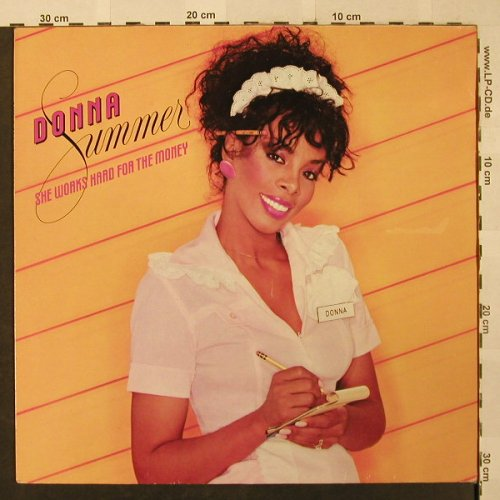 Summer,Donna: She Works Hard For The Money, Mercury(40 149 7), D, Club Ed, 1983 - LP - H2560 - 5,50 Euro