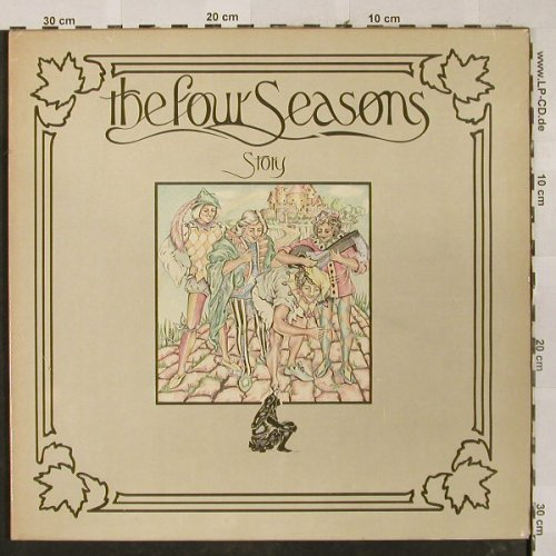 Four Seasons: Story, Foc, Private Stock(C 188-97 293-94), D, 1975 - 2LP - H2602 - 9,00 Euro