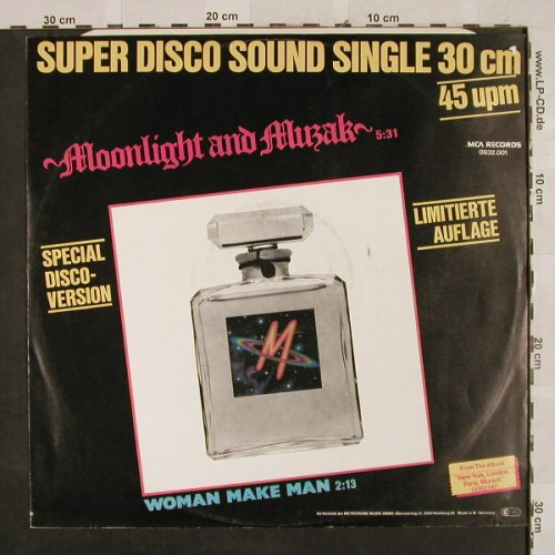 M: Moonlight and Muzak, LimEd., MCA(0932.001), D, stoc, 1979 - 12inch - H2664 - 4,00 Euro