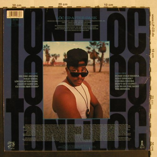 Tone-Loc: Loced After Dark, Island(209 780), D, 1989 - LP - H2817 - 5,50 Euro