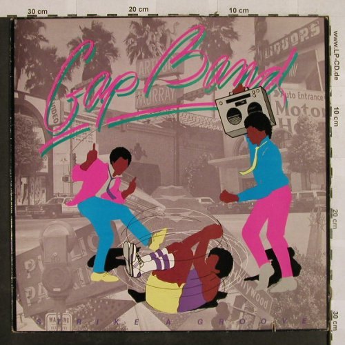 Gap Band: Strike A Groove, Passport(PB 6026), CDN, 1983 - LP - H2829 - 5,00 Euro