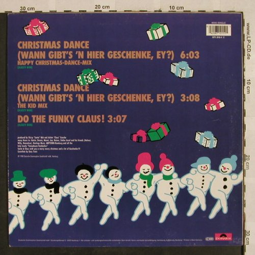 Santa & Claus: Christmas Dance*2/Do the FunkyClaus, Polydor(871 215-1), D, 1988 - 12inch - H2835 - 3,00 Euro