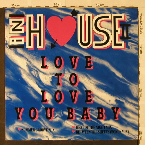 In House II: Love to Love you Baby *3, Flim Flam Rec.(FFR 1214), D,  - 12inch - H2974 - 3,00 Euro