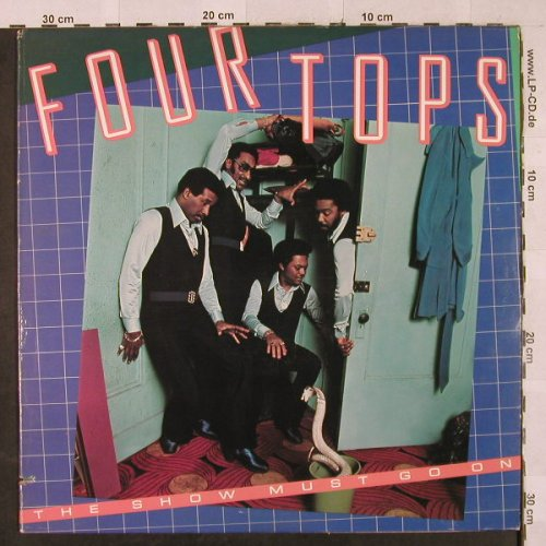 Four Tops: The Show Must Go On, ABC(AB-1014), US, co, 1977 - LP - H2992 - 6,50 Euro
