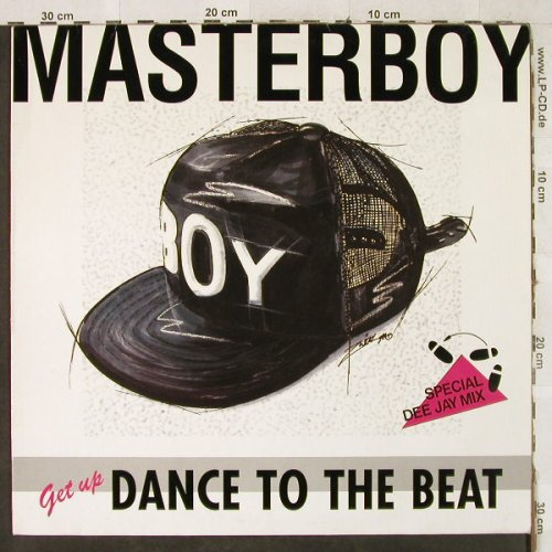 Masterboy: Dance to the Beat *3-sp.Dee Jay Mix, Polydor(877 069-1), D, 1990 - 12inch - H3545 - 4,00 Euro