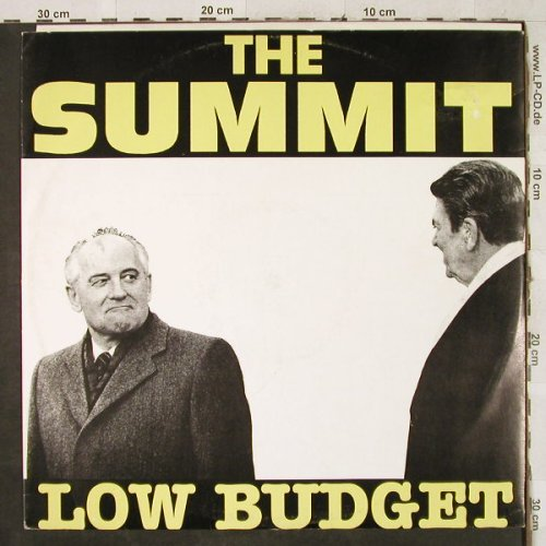 Low Budget: The Summit *4, Cheyenne Rec(CYX 550), I, 1988 - 12inch - H3567 - 4,00 Euro