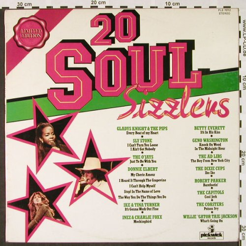 V.A.20 Soul Sizzlers: Inez & Charlie Foxx...Coasters, Pickwick(PLE 7012), UK,  - LP - H4012 - 5,50 Euro