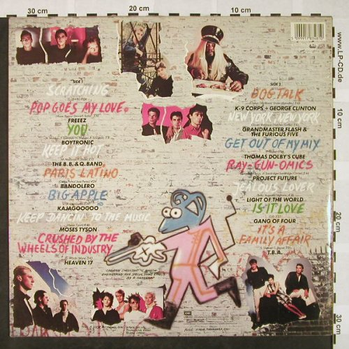 V.A.Scratch & Break: Freeez ...T.B.A., EMI(1783481), D, 1983 - LP - H4279 - 5,50 Euro
