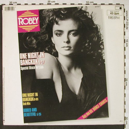 Robey: One Night in Bangkok*2+1, sp.disco, Metronome(881 750-1), D, 1984 - 12inch - H4427 - 5,00 Euro