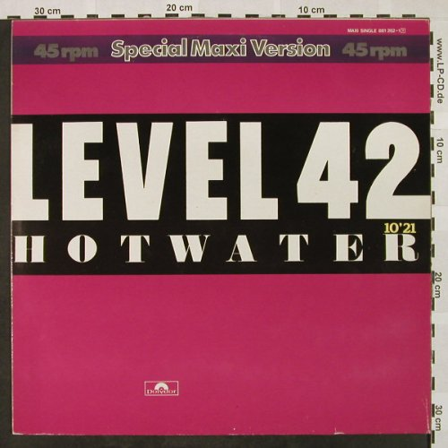 Level 42: Hotwater(10:21)+1, Polydor(881 262-1), D, 1984 - 12inch - H4453 - 4,00 Euro