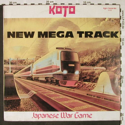 Koto: Japanese War Game*2,NewMegaTrack, ZYX(ZYX 5143), D, 1984 - 12inch - H4462 - 4,00 Euro
