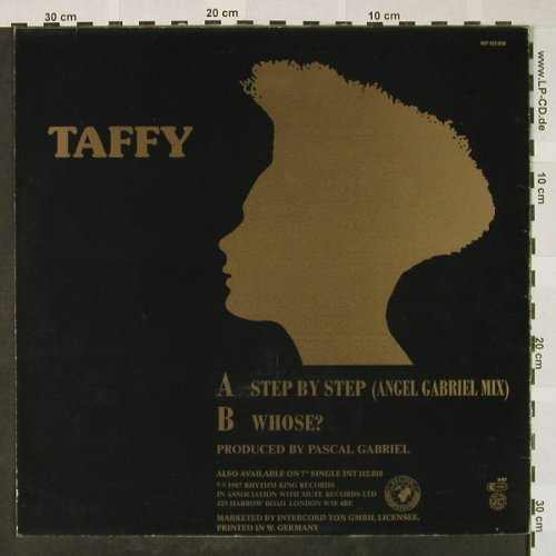 Taffy: Step by Step*2/Whose?,multicolVinyl, Rhythm King(INT 127.810), D, 1987 - 12inch - H4471 - 4,00 Euro
