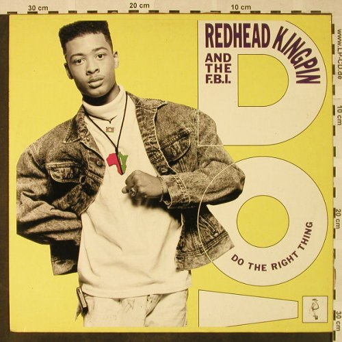 Redhead Kingpin & F.B.I.: Do The Right Thing *4, 10 Rec.(612 427-213), D, 1989 - 12inch - H4731 - 3,00 Euro