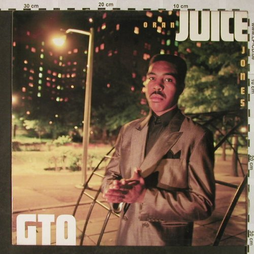 Oran'Juice'Jones: GTO - Gangsters takin' over, Def Jam(DEF 460406 1), NL, 1986 - LP - H4751 - 6,00 Euro