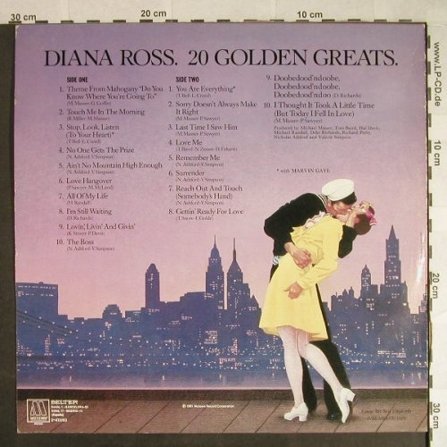 Ross,Diana: 20 Golden Greats, Motown(2-47.093), E, 1981 - LP - H480 - 5,50 Euro