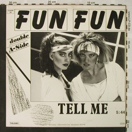 Fun Fun: Give Me Your Love*2+1,orange vinyl, Teldec(6.20406 AE), D, 1985 - 12inch - H5067 - 3,00 Euro